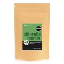 Wohltuer Bio Chlorella 500g - Presslinge im Papierbeutel