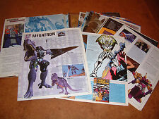 TRANSFORMERS ULTIMATE GUIDE by Simon Furman 2004; DISASSEMBLED FOR SCANNING