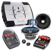 "pkg JL AUDIO ZR525-CSI 5.25"" COMPONENT SPEAKERS + PHOENIX GOLD X100.2 AMPLIFIER"