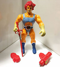 1985 LION-O (RED) w/WORKING EYES COMPLETE • C8-9 • VINTAGE LJN THUNDERCATS