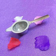 NEW RETRO STAINLESS STEEL TEA STRAINER AND DRIP BOWL WITH RARE BOX