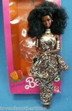 Nigerian AA Barbie Dolls of the World Collection deboxed w/ box African 1989