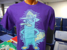 Men's Phineas & Ferb Perry Agent P. Shirt New L