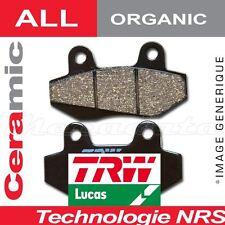 Plaquettes de frein Arrière TRW Lucas MCB 634 Honda CB 600 S Hornet PC36 02-06