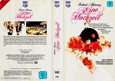 """VHS - """" Robert Altman`s - Eine HOCHZEIT ( A Wedding ) """" (1978) - Mia Farrow"""