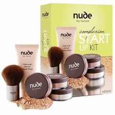 NUDE BY NATURE COMPLEXION PERFECTION STARTER KIT LIGHT / MEDIUM