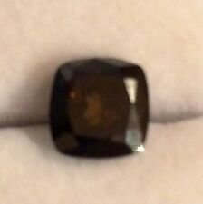 2.69CT 8.3mm SI AAA FANCY CHOCOLATE  BROWN CUSHION CUT LOOSE MOISSANITE
