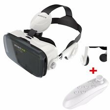 BOBOVR Z4 120° FOV 3D VR Box Virtual Reality Headset Video+ Bluetooth Gamepad UK