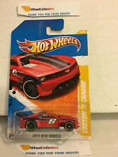 Custom '11 Camaro * RED * 2011 Hot Wheels * E29