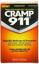 Cramp 911 Muscle Relaxing Roll-on Lotion, 0.71 oz, Free Shipping, New