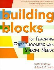 Building Blocks for Teaching Preschoolers With Special Needs-ExLibrary