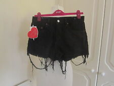 BNWT LOVING YOUTH REWORKED VINTAGE TASSLE LEVI SHORTS SIZE 30
