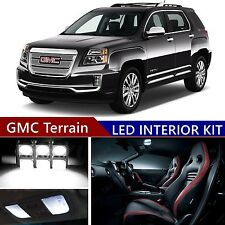 16pcs LED Blue Light Interior Package Kit for GMC Acadia 2007-2017