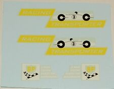 #203 Matchbox Race Car Transporter Decal Set K-5B and M-6B