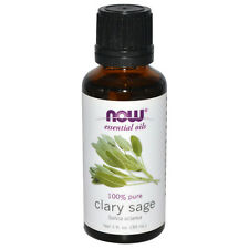 Clary Sage (100% Pure), 1 oz - NOW Foods Essential Oils