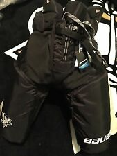 Pittsburgh PENGUINS Bauer Vapor APX S Black Gold NEW Hockey Pants Pro Stock