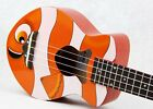 Clownuku Soprano Standard Ukulele - Rosewood bridge and fretboard