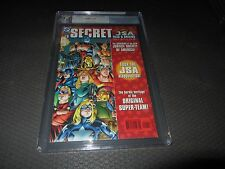JSA SECRET FILES 1 PGX (CGC) 9.4 NM, 1st Hawkgirl (Kendra Saunders) Flash-Arrow