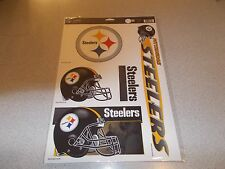 "PITTSBURGH STEELERS 11"" X 17"" ULTRA DECAL SHEET (5 DECALS)"