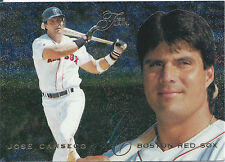 1995 Flair Baseball Trading Card #226 Jose Canseco (Red Sox) NM/MT DB#889