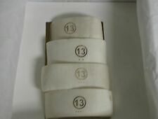 Maison Martin Margiela Paris Handsculpted Bone Napkin Rings – Set of 4 - NIB