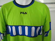 Fila long sleeve soccer sport jersey made in Italy ultra clean