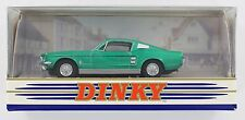 New Matchbox Dinky - 1967 Ford Mustang Fastback - Green - 1:43 Scale