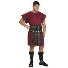 Roman Soldier Costume Tunic Adult Centurion Gladiator Warrior Fancy Dress