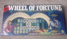 1985 WHEEL OF FORTUNE WORD PUZZLE SPIN GAME • COMPLETE • BASED ON THE #1 TV SHOW