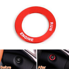 For 2014-2016 Cherokee Ignition Key Switch Ring Frame Cover Trim Circle Red