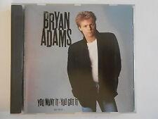 BRYAN ADAMS : YOU WANT IT YOU GOT IT - [ CD ALBUM ] --  PORT GRATUIT