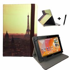 "10.1 inch Case Cover Book For Vodafone Smart Tab III Tablet - 10.1"" Paris 1"