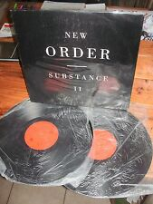 NEW ORDER Substance II ARGENTINA only (black cover) DOUBLE LP Dance Synth Pop