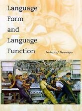 Language Form and Language Function by Frederick J. Newmeyer (2000, Paperback)