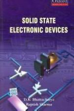 Solid State Electronic Devices by Rajnish Sharma and D. K. Bhattacharya...
