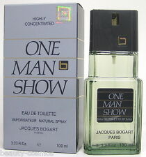 Jacques Bogart ONE MAN SHOW 100ml EDT Spray Neu OVP