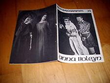 Filmprogramm Nr. 75  Anna Boleyn  EMIL JANNINGS+HENNY PORTEN