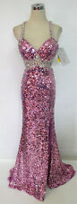 NWT RIVA DESIGNS R9559 Orchid $458 Formal Prom Gown 10