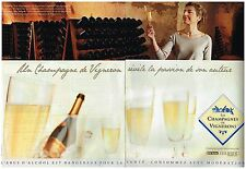 Publicité Advertising 2008 (2 pages) Les Champagnes de Vignerons
