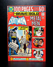 COMICS: DC: Brave and the Bold #113 (1974), 100 pages giant, Batman/Metal Men