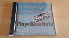 MANHATTAN JAZZQUINTET - PLAYS BLUE NOTE - CD