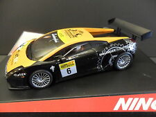 NINCO 50447 LAMBORGHINI GALLARDO #6 FLATEX 1/32 SLOT CAR SCALEXTRIC COMPATABLE.