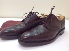 "George GJ Cleverley ""Exmoor"" Medallion Wingtip Oxfords 10 E US LKNW (MN2583)"