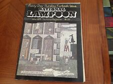 NATIONAL LAMPOON MAGAZINE JUNE - 1974 RAINY DAY SUNDAY FUNBOOK ISSUE