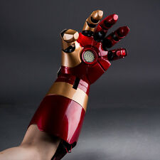 CATTOYS Tony Stark Iron Man Mark 42 1/1 Gauntlet Auto Light Up LEFT HAND