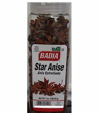 BADIA cooking spices STAR ANISE 7 Oz(198.4g)anis Estrella Seasonings, Condiments