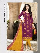 Designer Party Wear Lakada Jacquard Suit Salwar Kameez Cotton Dress Material 16