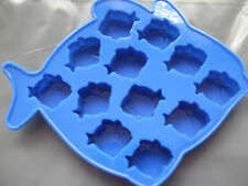 Silicone Mould Mini Fish Shapes Wax Melts,Chocolate,Sweets,Soap,Ice,Fondant etc