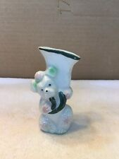 Vintage Poodle Dog Small Vase