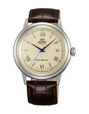 Orient 2nd Gen Bambino V2 FAC00009N AC00009N Cream Classic Watch Blue Hands